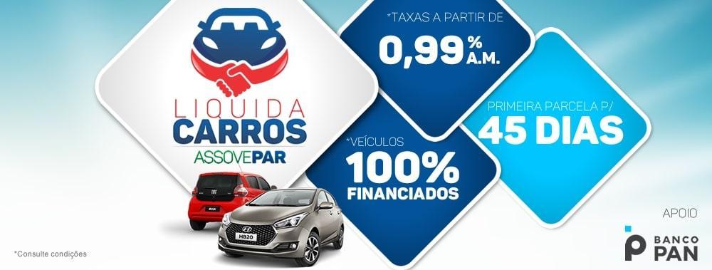 Maior Feirão do Sul do Brasil, Liquida Carros Assovepar começa nesta terça-feira (22)