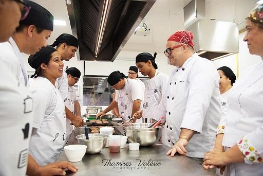 Gastromotiva prorroga inscrições do curso profissionalizante até o dia 22 de fevereiro