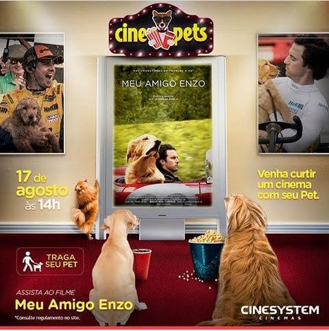 Eles conquistaram lugares cativos nas poltronas: cinema pet ganha nova sessão em Curitiba