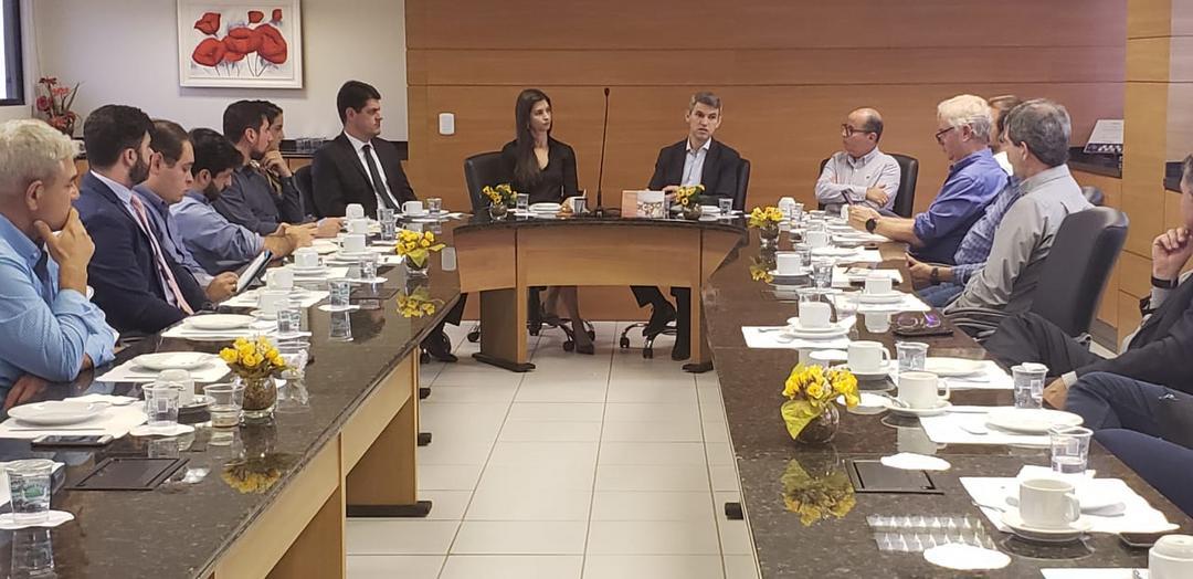 Secovi-PR recebe presidente da COMEC para tratar de Loteamentos