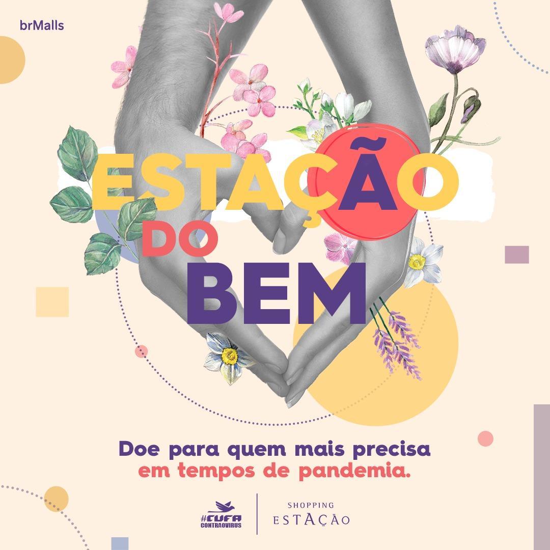 Estação do Bem: Shopping Estação, em parceria com a Central Única das Favelas, arrecada doações