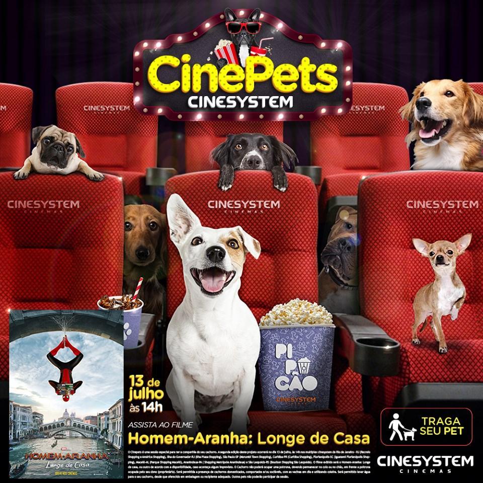 Sucesso de público na estreia, cinema de Curitiba realiza nova sessão pet friendly