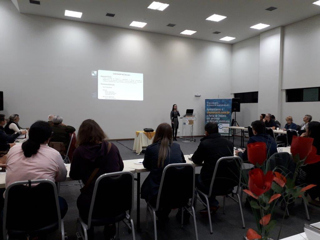 Secovi-PR promoveu palestra sobre Contrato de Seguros