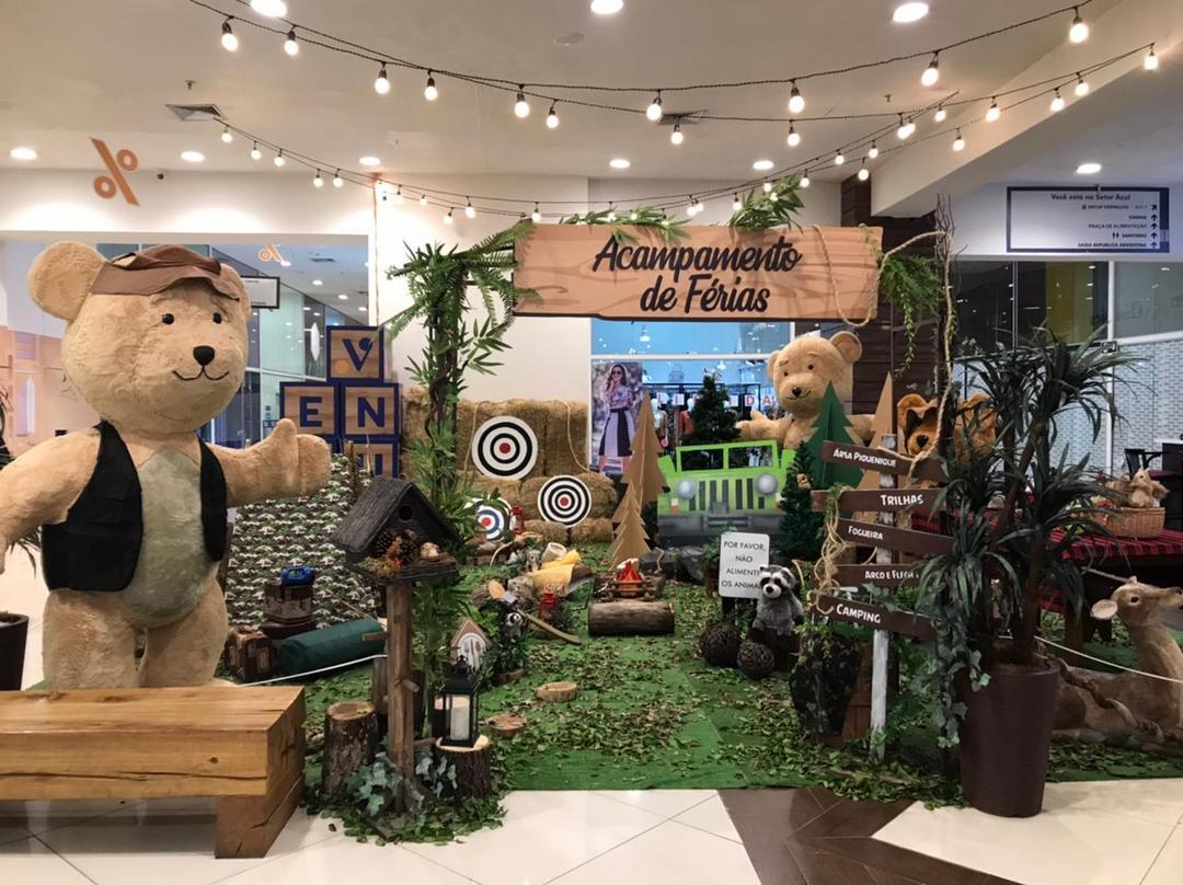 Ventura Shopping lança Acampamento de Férias
