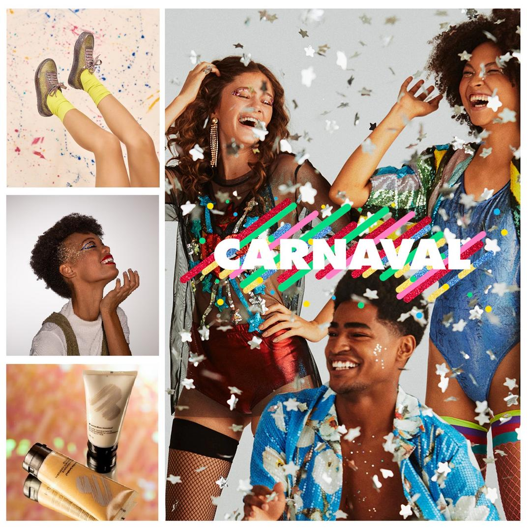 Descubra os lançamentos em makes, fantasias e coleções temáticas para o Carnaval