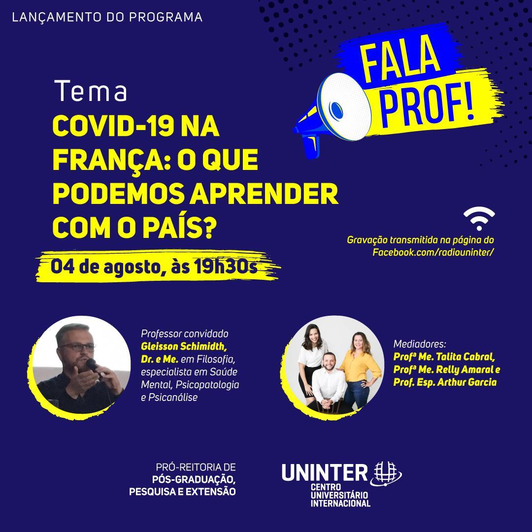 Rádio Uninter lança programa com entrevistas mensais