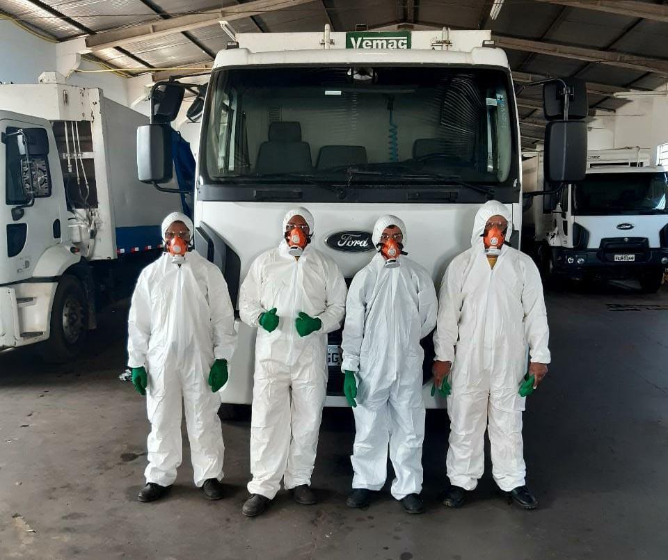 COVID-19 - Empresa paranaense adota medidas especiais para coleta do lixo urbano