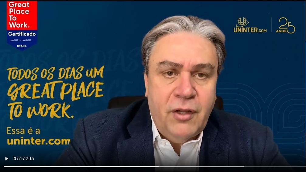 Uninter conquista selo GPTW e se destaca entre as melhores empresas para se trabalhar no Brasil