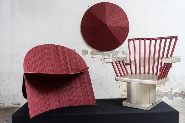 Projeto pioneiro apresenta arte e design a partir de resíduos da construção civil