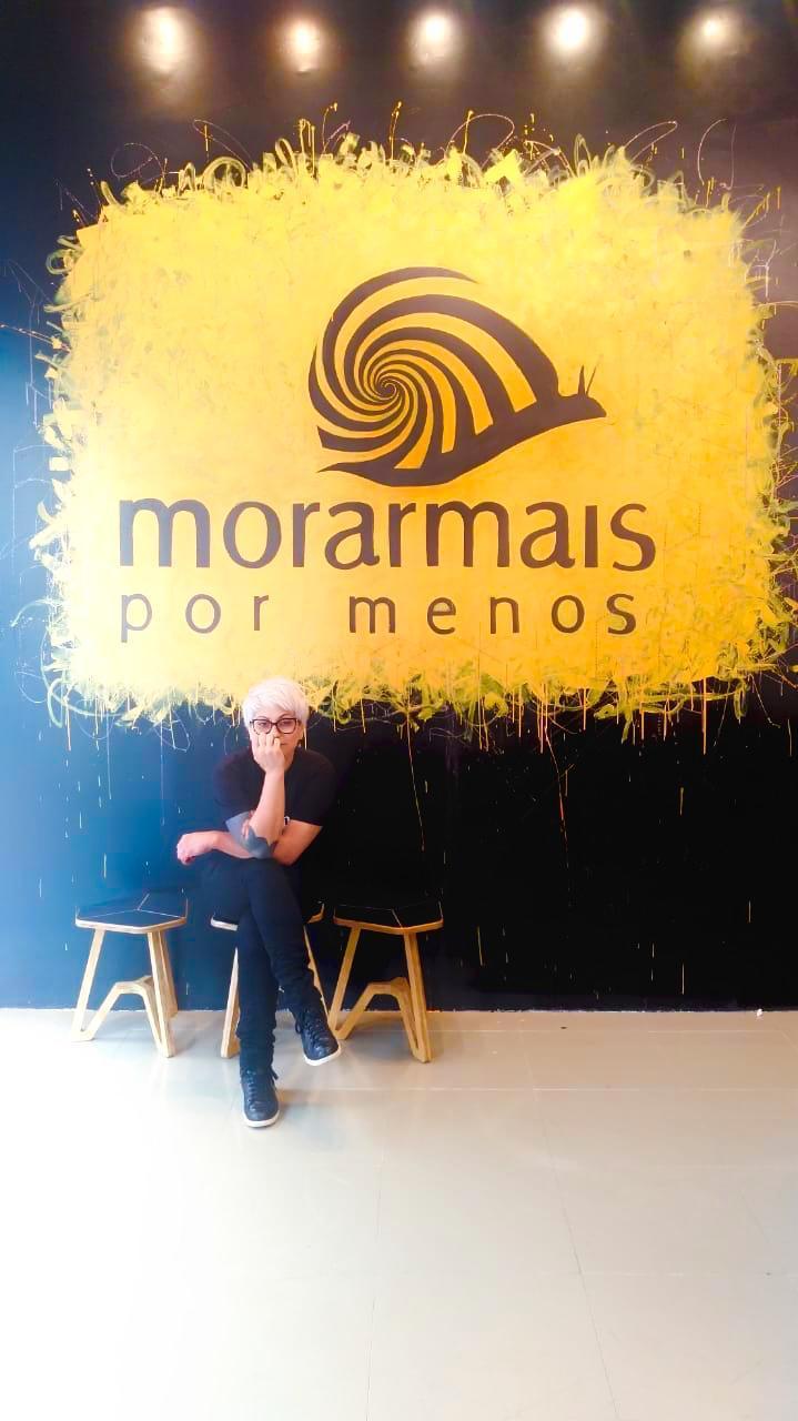 Meeting Point da Morar Mais destaca o trabalho da artista Lu Mizkatze, de Foz do Iguaçu