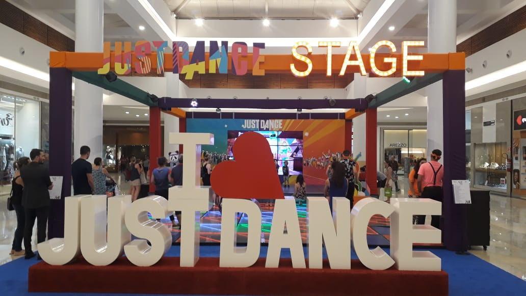 Últimos dias do Just Dance no Catuaí Shopping Londrina