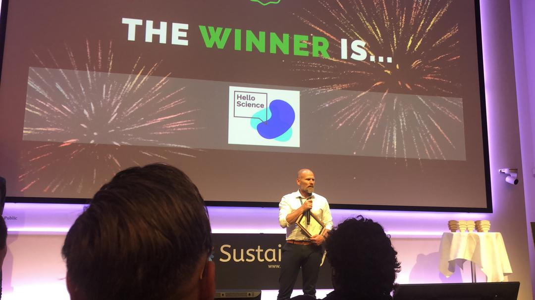 HelloScience é premiada no SDG Tech Awards em Copenhague
