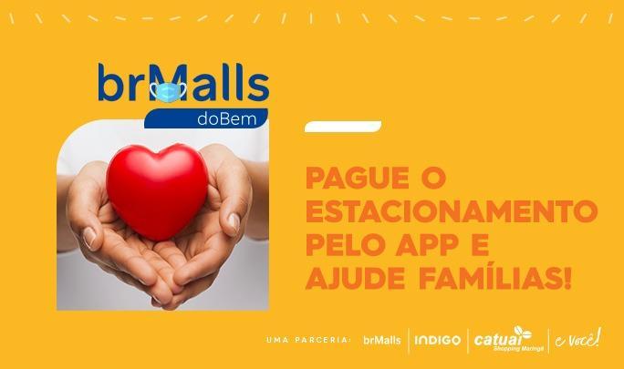 Ação solidária converte tarifa de estacionamento do Catuaí em doações a famílias de Maringá