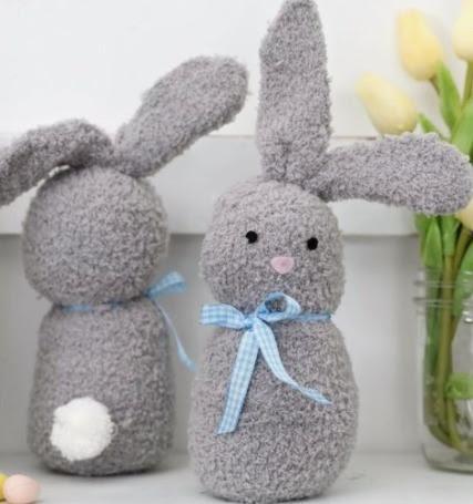 Faz de Conta Especial de Páscoa ensinará a fazer um coelhinho de meia