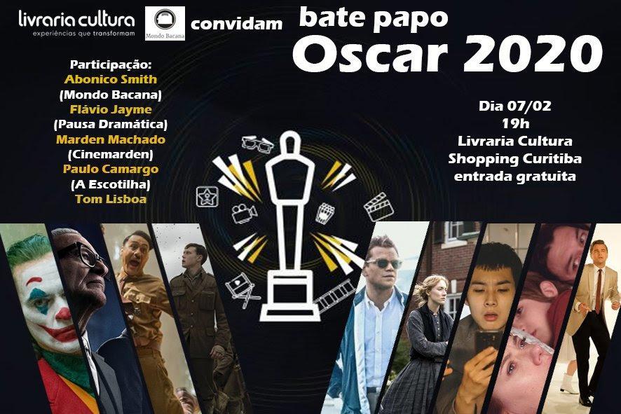 Críticos de cinema comentam indicações do Oscar 2020 na Livraria Cultura