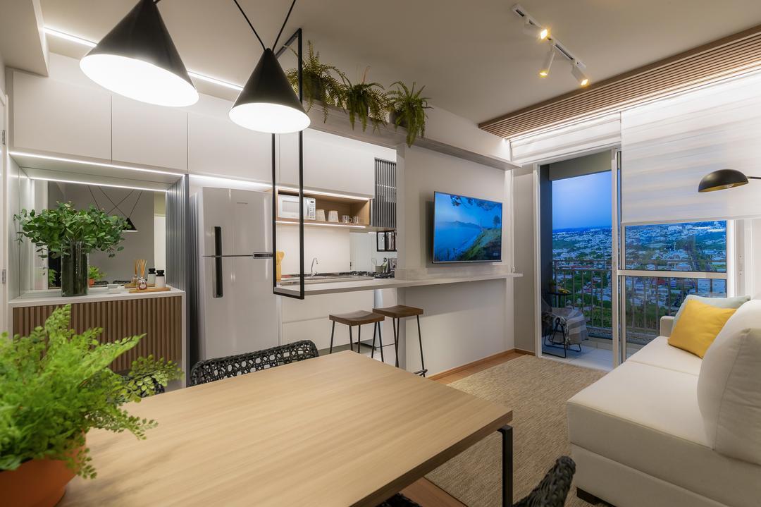 Apartamentos compactos: veja como aproveitar pequenos espaços