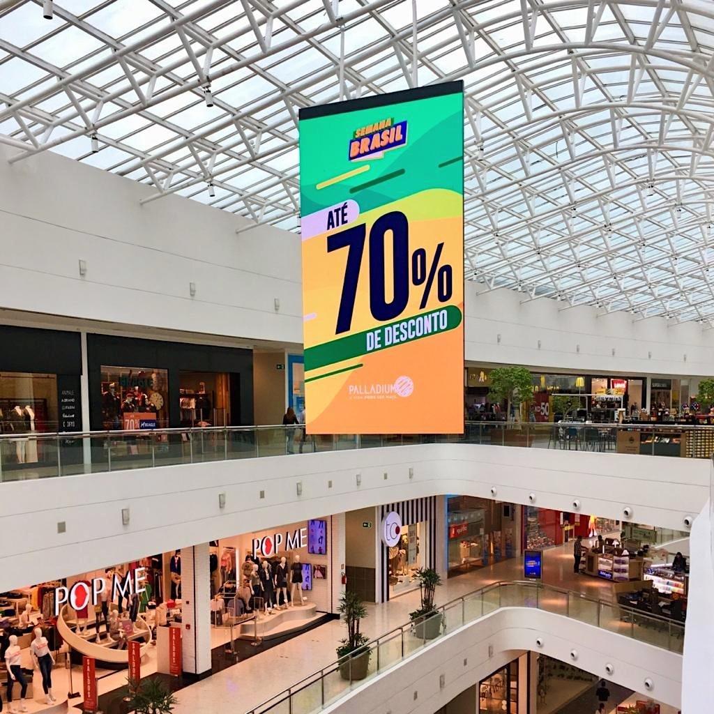 Semana Brasil: Shoppings oferecem descontos de até 70% até 13 de setembro