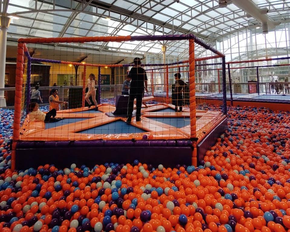 Playground para crianças é a nova atração do Shopping Estação