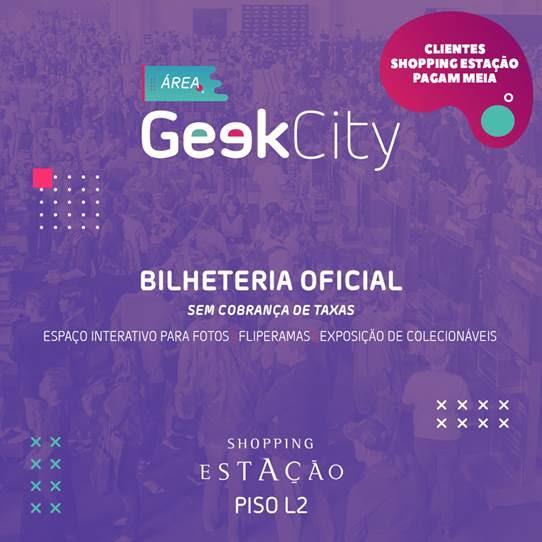 Geek City prepara o Shopping Estação para o maior evento de cultura pop do Sul do país