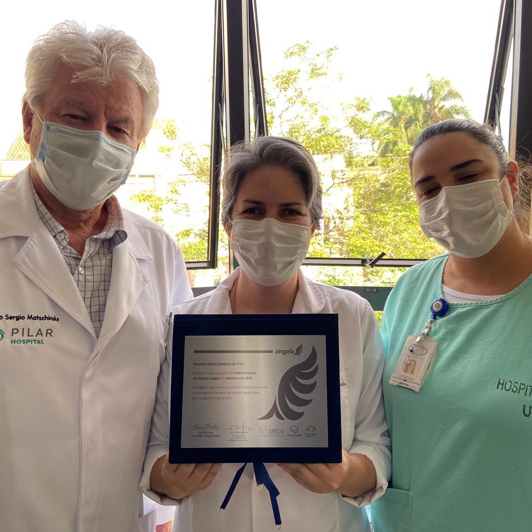 Pilar Hospital recebe certificação como referência no atendimento em AVC