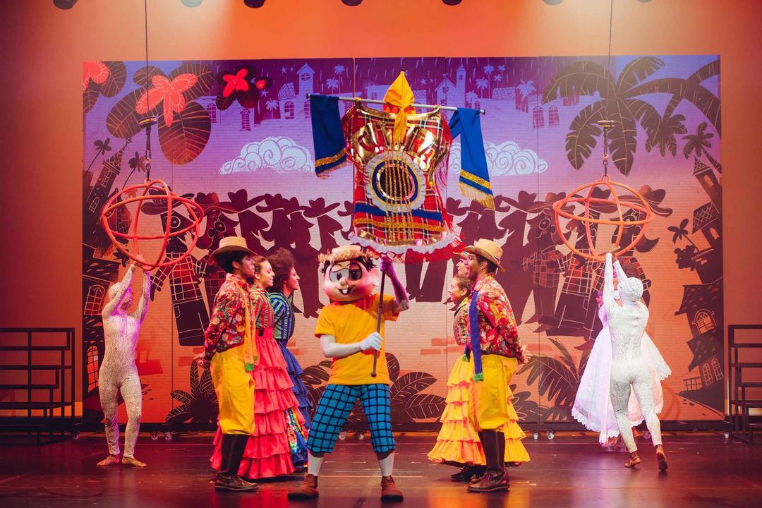 Circo Turma da Mônica chega em Curitiba nesta semana com o espetáculo Brasilis