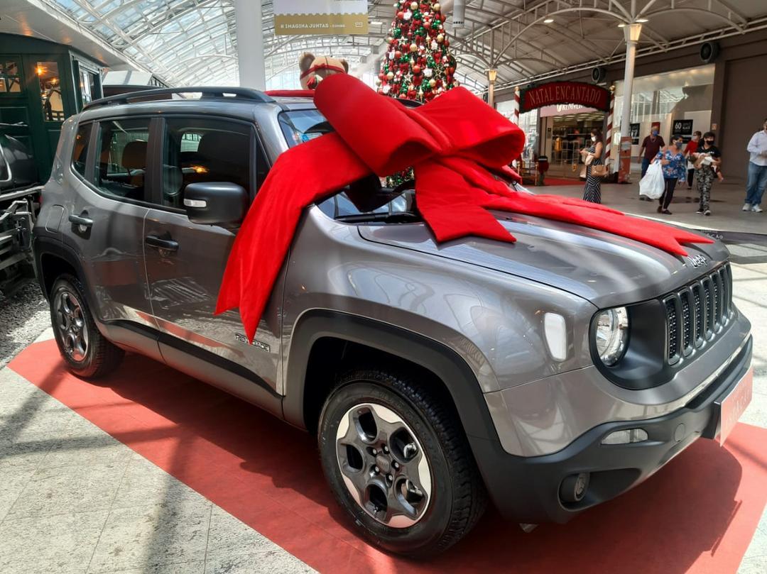 Últimos dias para concorrer a um Jeep Renegade no Shopping Estação