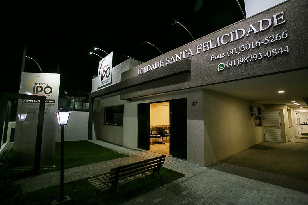 Hospital IPO passa a ter tratamento oftalmológico em Santa Felicidade