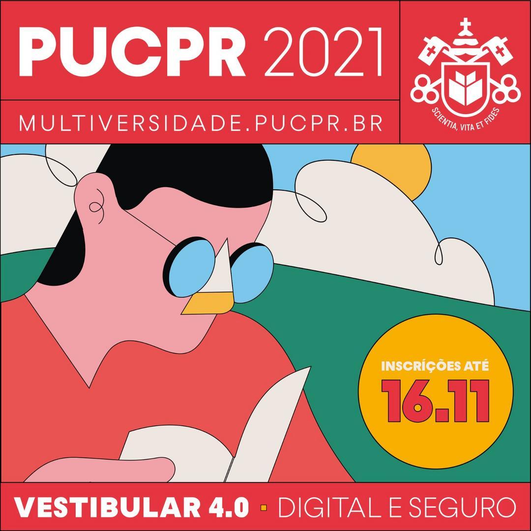 Processo seletivo de verão da PUCPR será digital