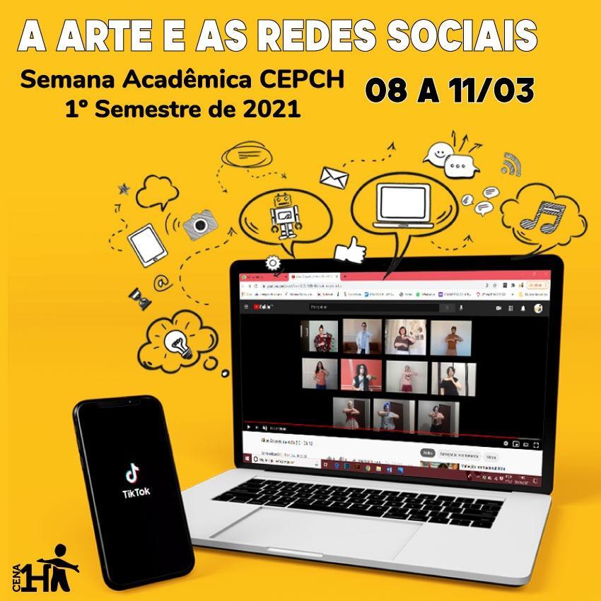 """""""A Arte e as Redes Sociais"""" é tema de evento gratuito promovido pela Cena Hum"""