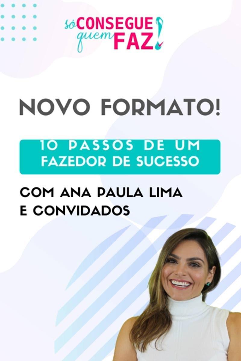 """Projeto """"Só Consegue Quem Faz"""" terá palestras gratuitas com profissionais de sucesso de Curitiba"""