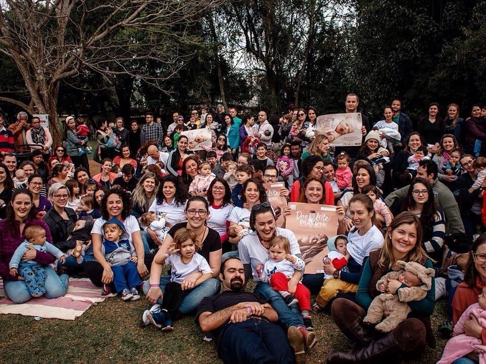 """""""Mamaço"""" marca a Semana Mundial do Aleitamento Materno em Curitiba"""