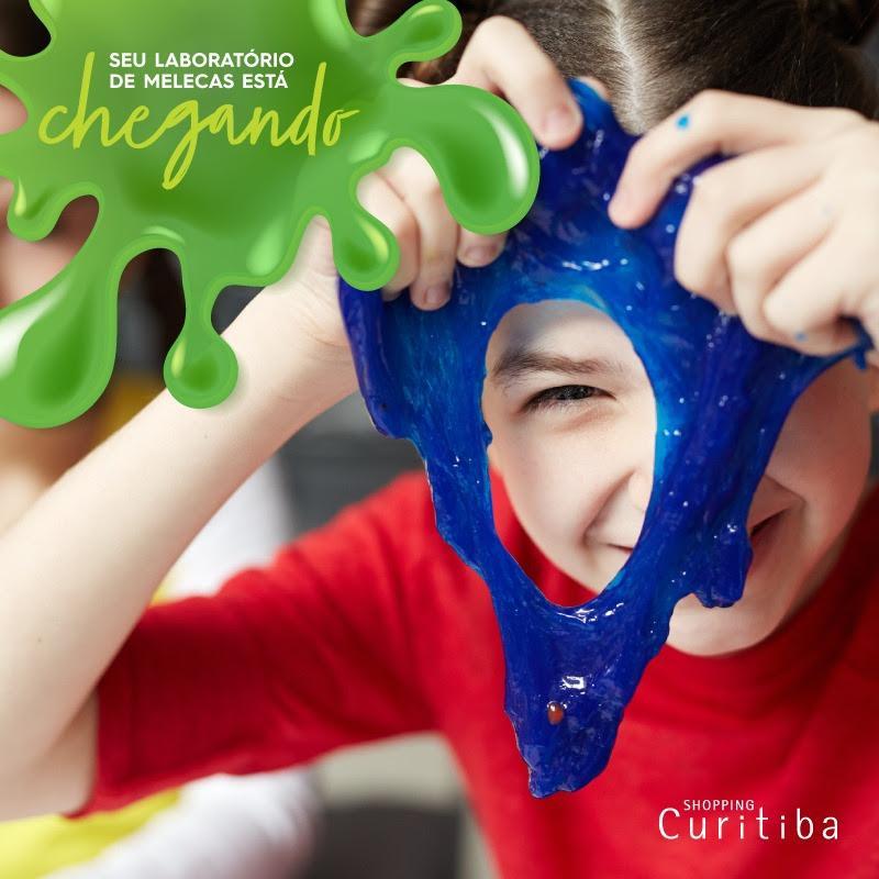Fãs de slime vão ter espaço para se divertir no Shopping Curitiba