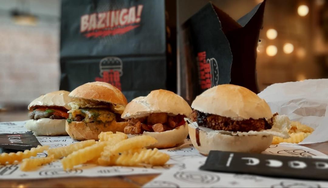 The Big Bang Burger chega à Curitiba com os burgers inspirados no seriado mais divertido da televisão