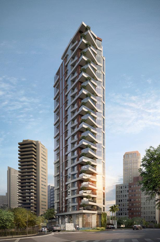 Imóveis residenciais verticais super luxo têm 70% de aumento nas vendas em Curitiba