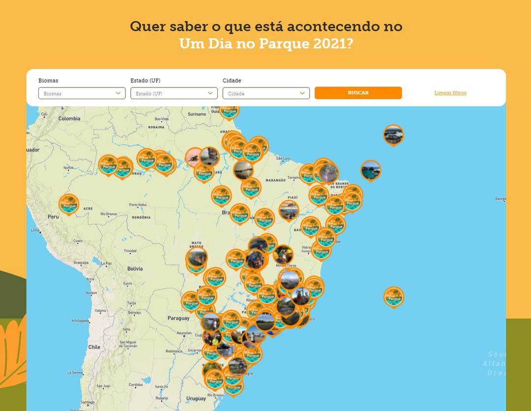 Mais de 350 Unidades de Conservação participam da 4ª edição do Um Dia No Parque