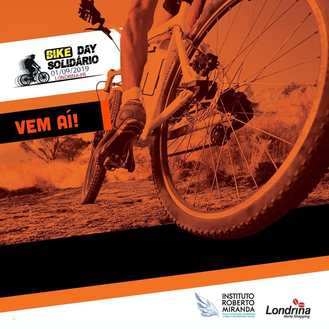Inscrições para o II Bike Day Solidário terminam no sábado (31/8)