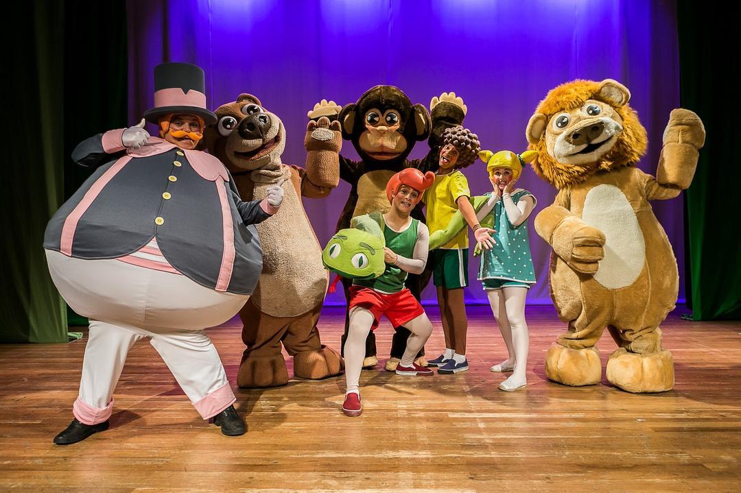 Espetáculo Bita e os Animais anima a criançada neste fim de semana