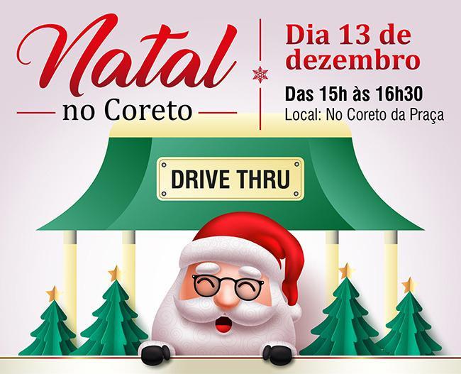 Santa Mônica Festa de Natal em formato Drive Thru