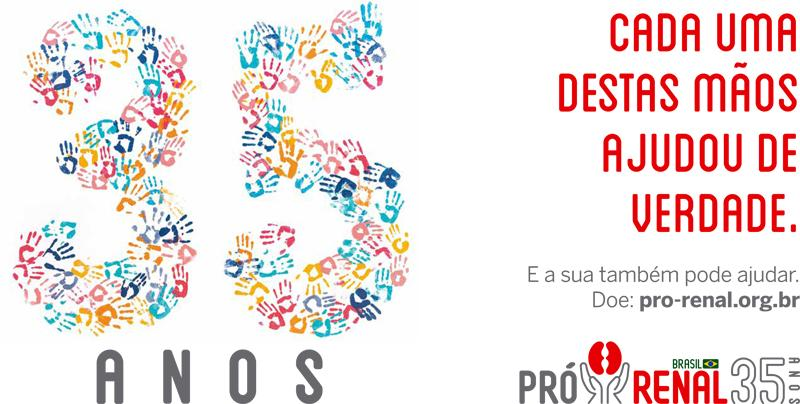 ÓpusMúltipla cria campanha comemorativa de 35 anos da Fundação Pró-Renal