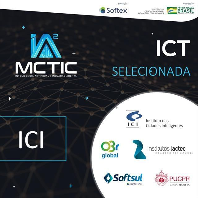 Instituto das Cidades Inteligentes é qualificado para programa de inteligência artificial