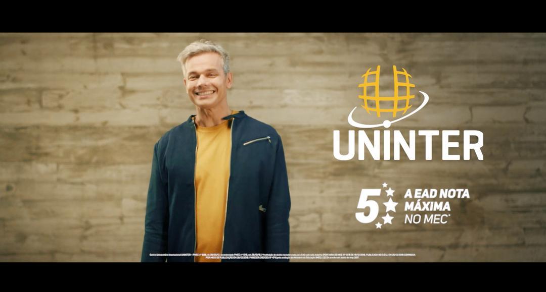 Otaviano Costa grava nova campanha nacional do Grupo Uninter