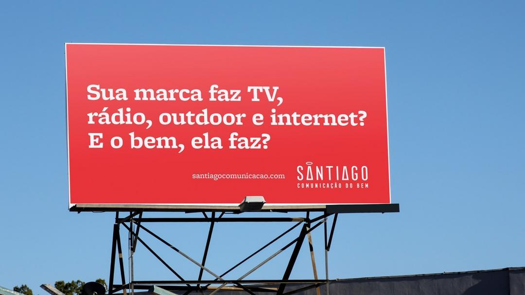 Santiago Comunicação cria campanha baseada no seu propósito para divulgar novo site.