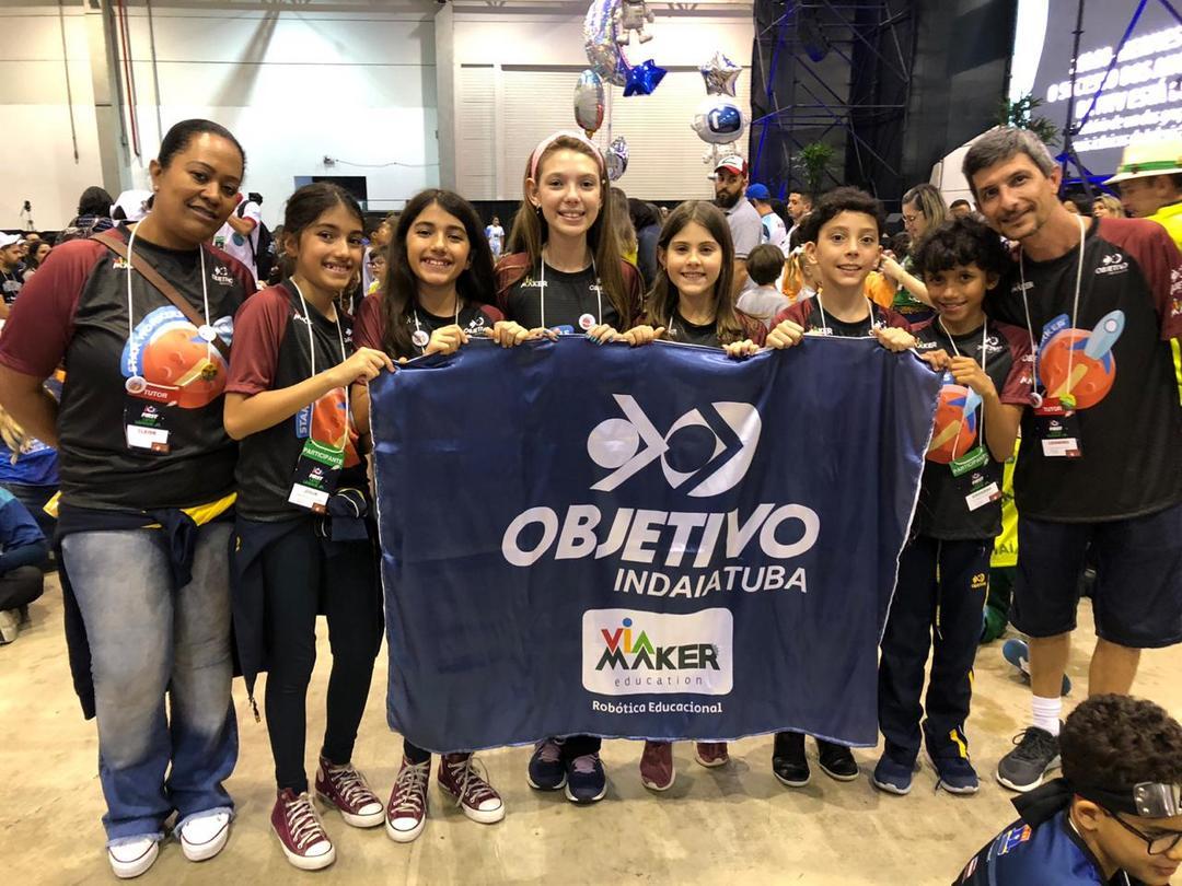 Crianças do interior de São Paulo representarão o Brasil na etapa internacional do FIRST® LEGO® League Jr.