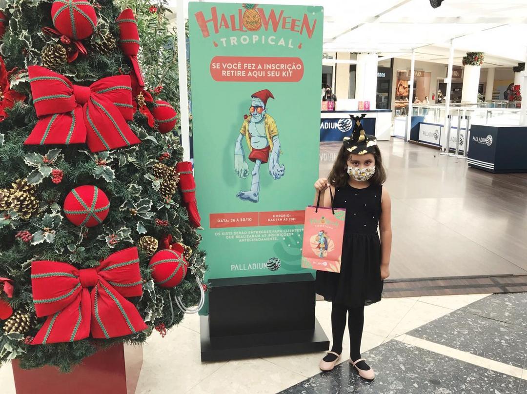 Palladium Curitiba promove ação de relacionamento no Halloween