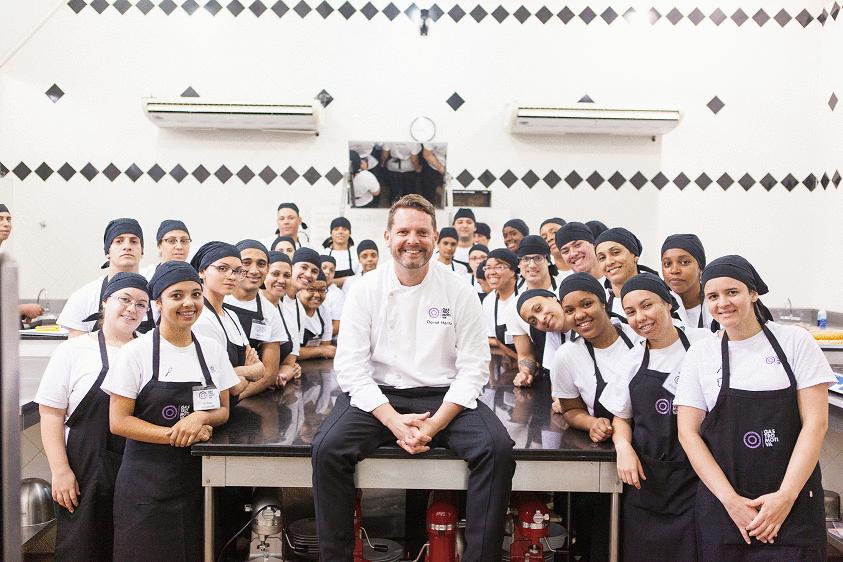 David Hertz, fundador da Gastromotiva, é condecorado com o Prêmio Charles Bronfman de 2019