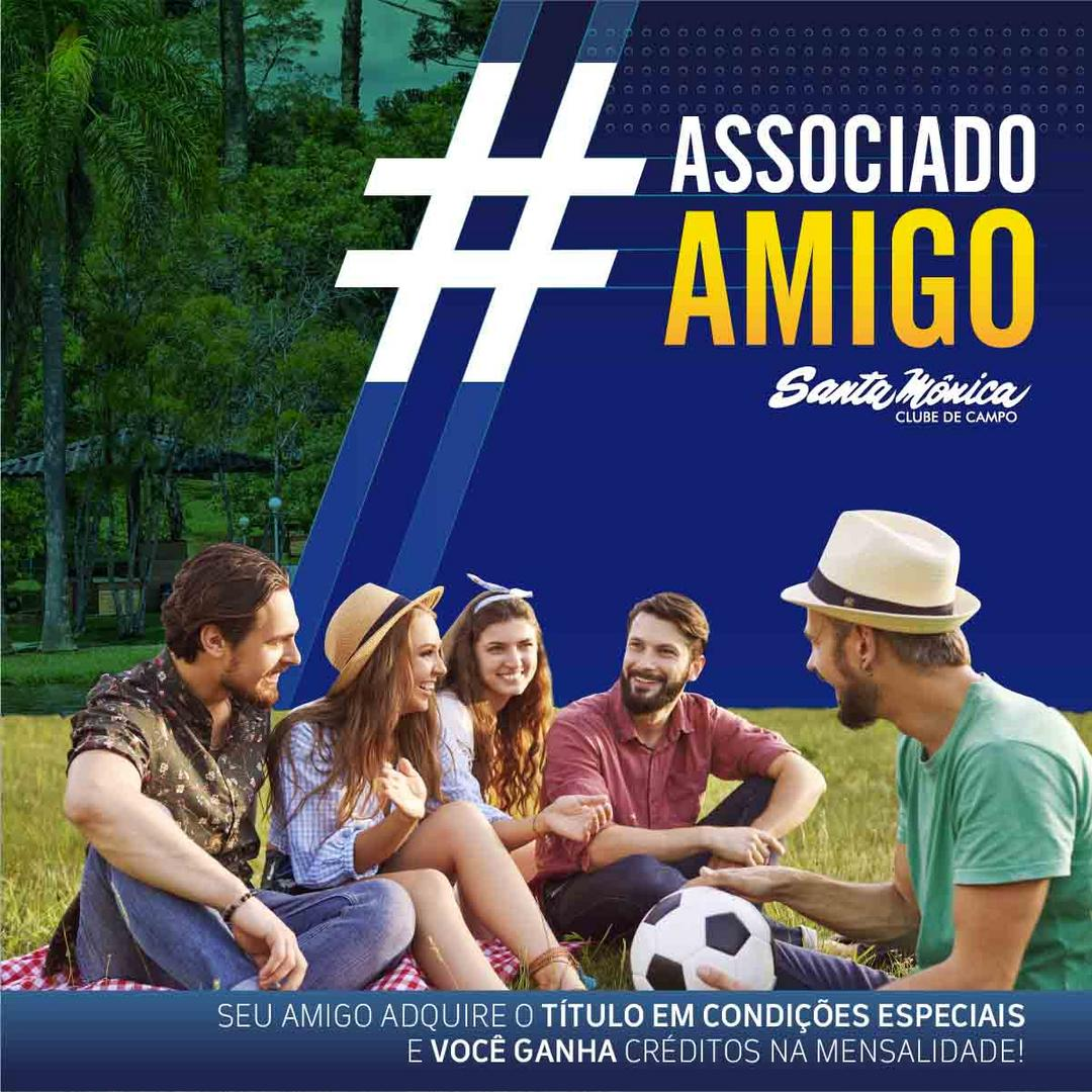 Santa Clube de Campo lança Campanha #AssociadoAmigo