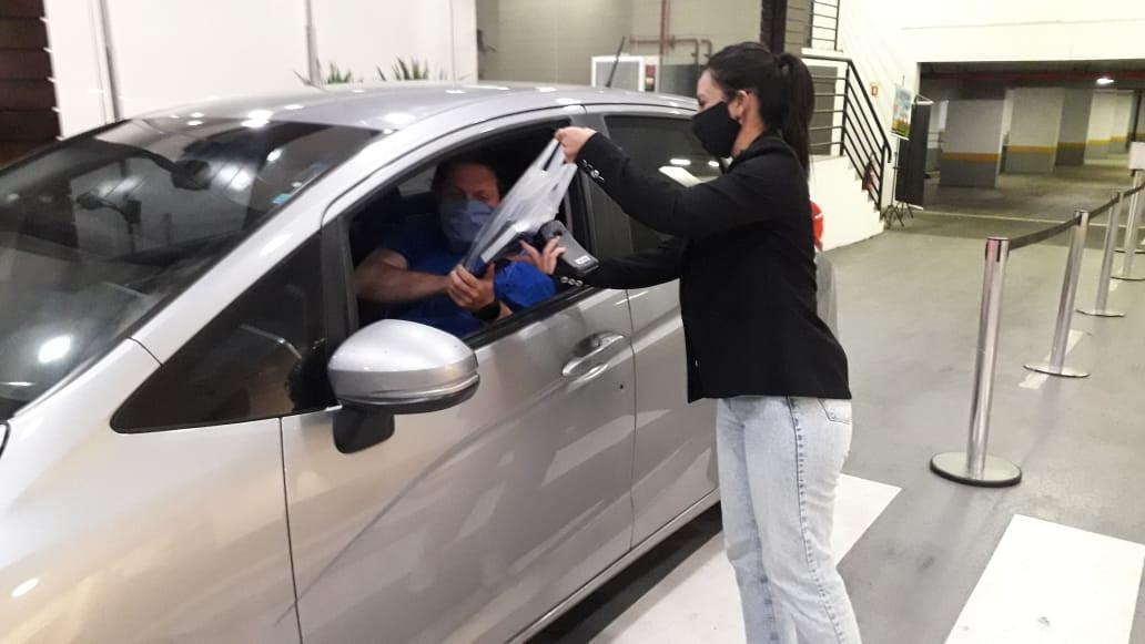 Após Dia das Mães, Shopping Curitiba segue com o serviço de drive-thru