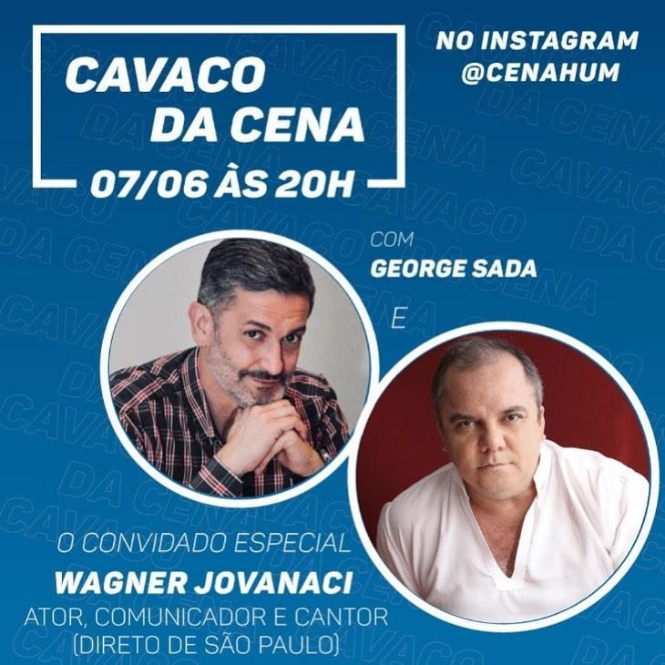 Ator Wagner Jovanaci participa do Cavaco da Cena