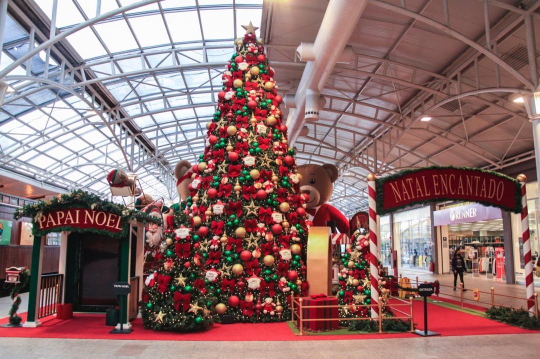 Shopping Estação vive magia do Natal com Papai Noel digital
