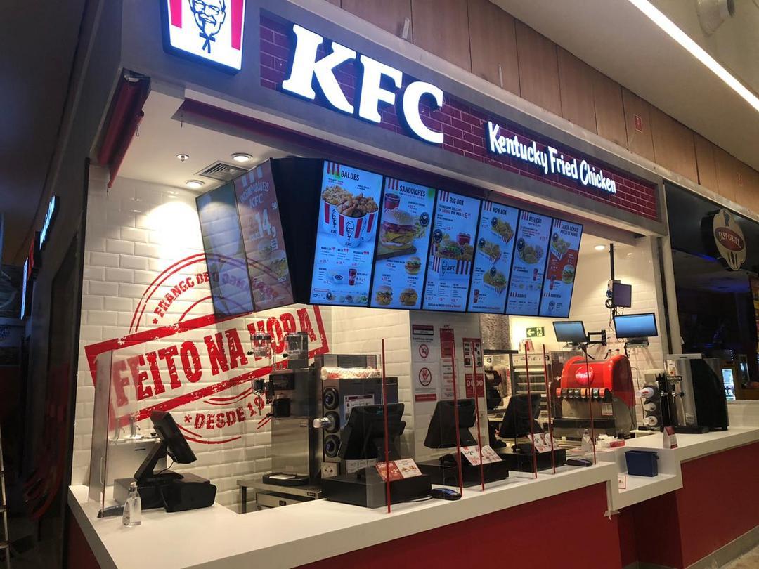 Frango frito do KFC chega a Maringá